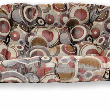 Double Papasan Cushion in Tapestry Fabric (Cushion Only)