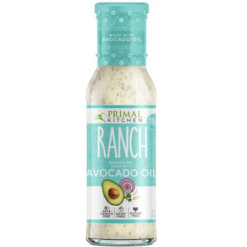 Primal Kitchen Avocado Oil Ranch Dressing & Marinade, 8 Ounce (237 ML), Paleo, Whole30