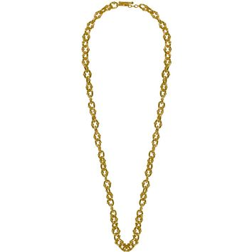 BONNY LONG CHUNKY CHAIN NECKLACE IN GOLD