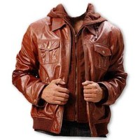 Bishop Mens Leather Jacket