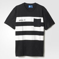 adidas Street Pocket Tee - Black | adidas US