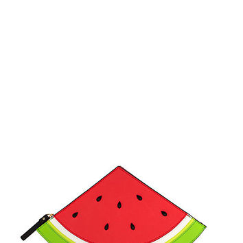Kate Spade Splash Out Watermelon Clutch Pink ONE