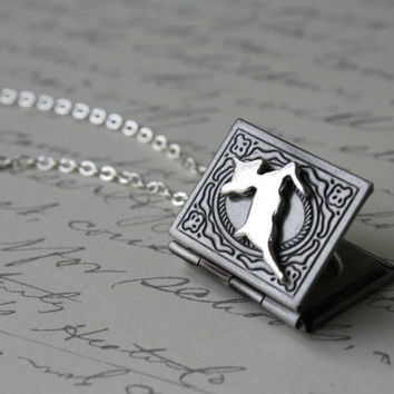 Always - Snape and Lily Patronus Necklace - Harry Potter Inspired Jewelry - Second Edition