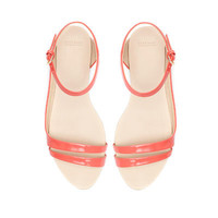 ASYMMETRIC FLAT SANDALS - Woman - New this week - ZARA United States
