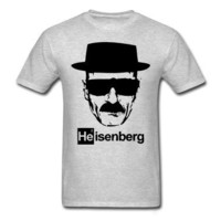 BREAKING BAD Heisenberg T-Shirt Grey Unisex