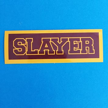 Sunnydale Slayer - Vampire Slayer Vinyl Sticker