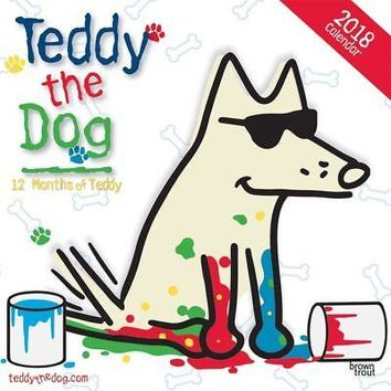 Teddy the Dog Wall Calendar, Assorted Dogs by BrownTrout