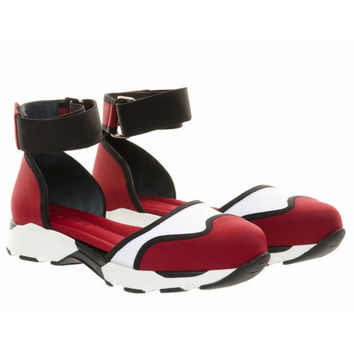 Marni Red Mary Jane Shoes