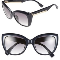 Women's Fendi 54mm Retro Sunglasses