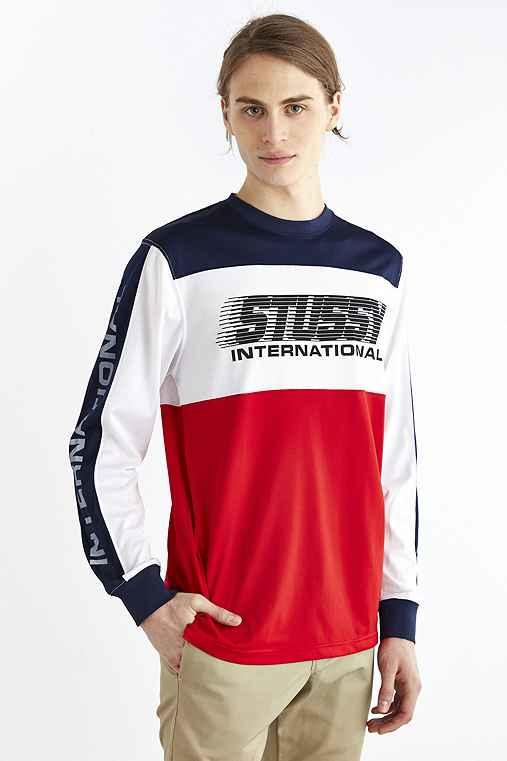 0e54b4c4b Stussy BMX Long-Sleeve Crew Neck Tee- from Urban Outfitters