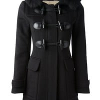 Burberry Brit wool short duffle coat