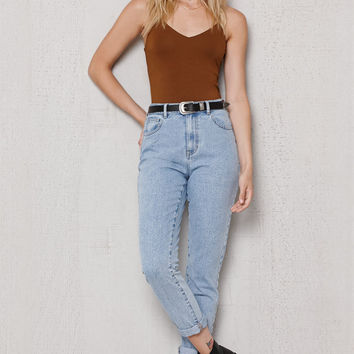 PacSun Steve Blue Mom Jeans at PacSun.com