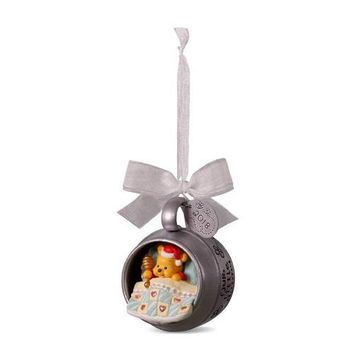 Disney Winnie the Pooh Baby's First Christmas 2018 Metal Ornament