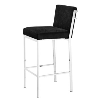 "Eichholtz Scott Bar Stool - Steel (30""SeatH)"