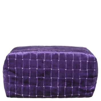 Designers Guild Leighton Violet Large Toiletry Bag