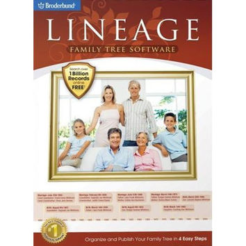Lineage Family Tree Software for Windows