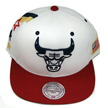Mitchell & Ness Chicago Bulls Nba 4Th Of July Snapback Hat