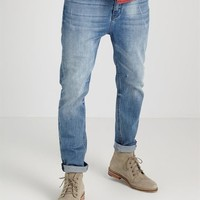 tapered carrot jean