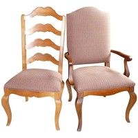 Pre-owned Ethan Allen French Country Dining Chairs - S/4