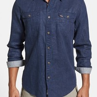 Men's Timberland 'Hubbard River' Regular Fit Linen & Cotton Work Shirt,