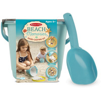 Melissa & Doug Beach Memories Sand-Casting Kit