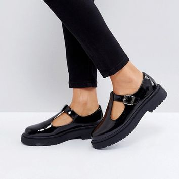 ASOS MOUNTAIN Chunky Flat Shoes at asos.com
