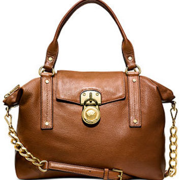 MICHAEL Michael Kors Handbag, Hamilton Medium Slouchy Satchel - All Handbags - Handbags & Accessories - Macy's