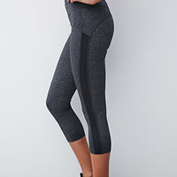 Textured Mesh Workout Pants