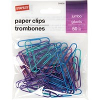 Staples® Jumbo Paperclip 50 PK | Staples