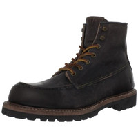 Frye Mens Dakota Leather Distressed Lace-Up Boot