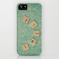SMILE iPhone Case by Laura Ruth  | Society6