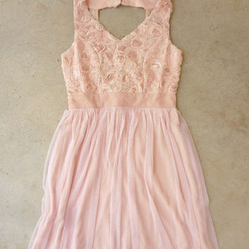 Pushing Petals Party Dress