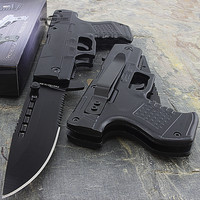 Spring Assisted Folding Gun Tactical Knife