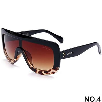 CELINE 2018 new men and women fashion trend high quality sunglasses F-8090-YJ NO.4