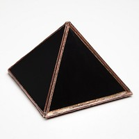 ABJ Glassworks Womens Wonders Of The World Pyramid Box - Black, One