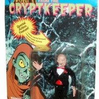 Year 1997 Tales from the Cryptkeeper 5 Inch Tall Horror Action Figure - The CRYPTKEEPER