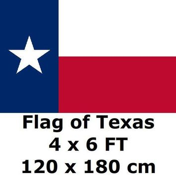 Texas Flag 4X6FT 100D Polyester State of US USA American United States Flags and Banners For Home Decoration