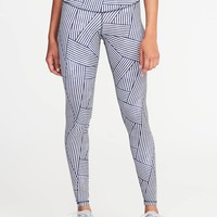 High-Rise Compression Leggings for Women | Old Navy