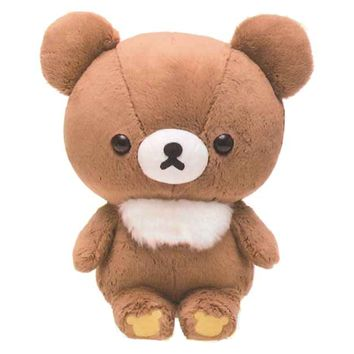 "(Pre-Order) Rilakkuma Plush − Kogumachan ""Korilakkuma and new Friend"" 26.5cm Size MR47301"