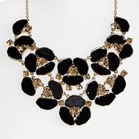 kate spade new york 'disco pansy' bib necklace | Nordstrom