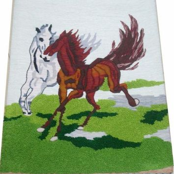 LMF9GW Handmade art tapestry tapestry wall mural room classic paintings 'gallop' special offer Q22