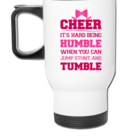 If Cheerleading Was Easy - Travel Mug