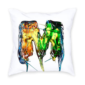 So into this design on Fab! M Candy Throw Pillow #FabForAll