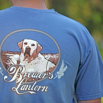 Earl the Pearl Short Sleeve T-Shirt in Blue Jean