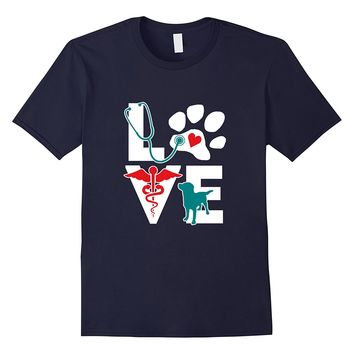 Love All Animals Veterinarian Shirt