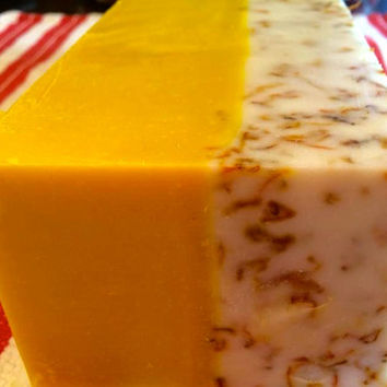 3 Pack of Good Day Sunshine - Handcrafted, Cold Process Soap, Calendula Soap, Handmade Soap, Gentle Soap, Great Mothers Day Gift!