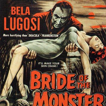 Bride of the Monster 27x40 Movie Poster (1956)