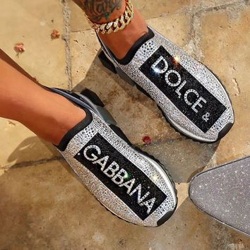 shosouvenir  Dolce & Gabbana Fashion leisure sports shoes