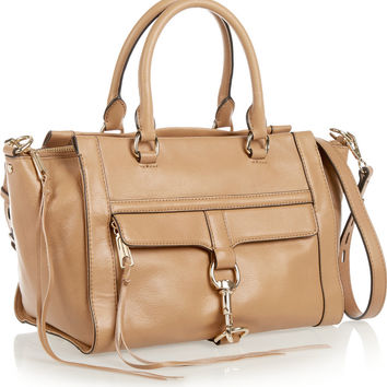 Rebecca Minkoff Bowery leather tote – 50% at THE OUTNET.COM