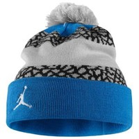Jordan Jumpman Striped Beanie - Adult at Eastbay